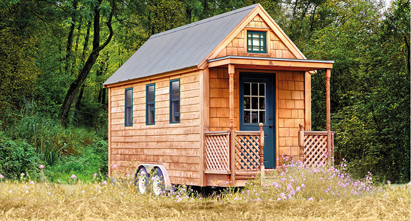 Tiny Houses von Tchibo: Mikrohäuser go Mainstream